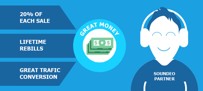 Great money for Soundeo Partners